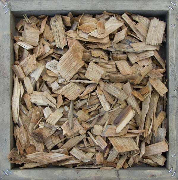 Light color Wood Chips